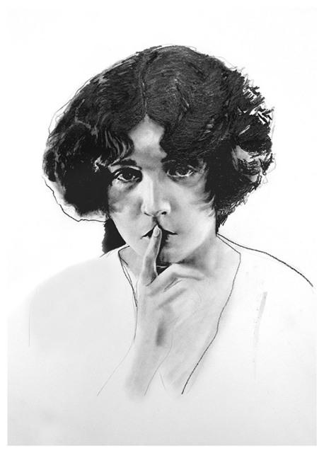 , 'Sssh... Work In Progress,' 2012, Vintage Deluxe