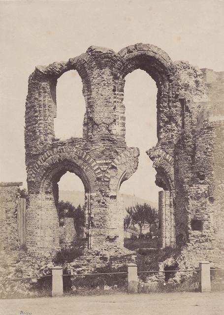 """Jean-Louis-Henri Le Secq, 'Ruines a Tréves, (Kaiserthermen or """"Emperor's Baths)', 1851/1851c, Contemporary Works/Vintage Works"""