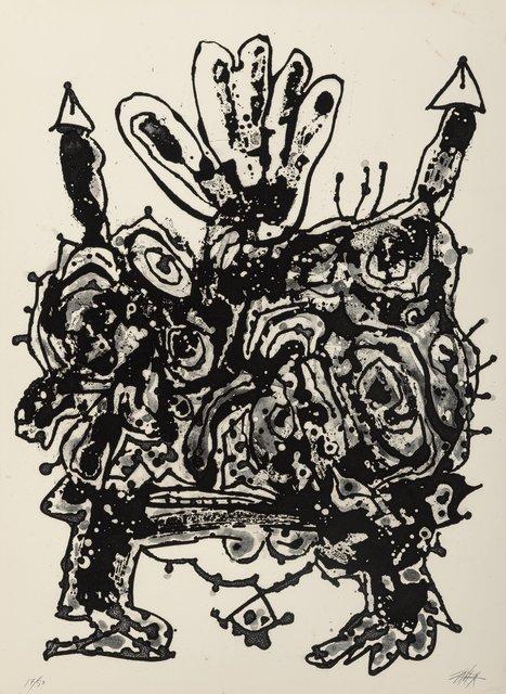 Antonio Saura, 'Claudia, from the Novisaurias series', 1969, Heritage Auctions