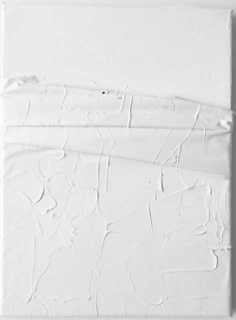 , 'PW6 (VI) AA. Prueba de Leucofobia: Blanco sobre blanco. (Leukophobia test: White on white),' 2017, SET ESPAI D'ART