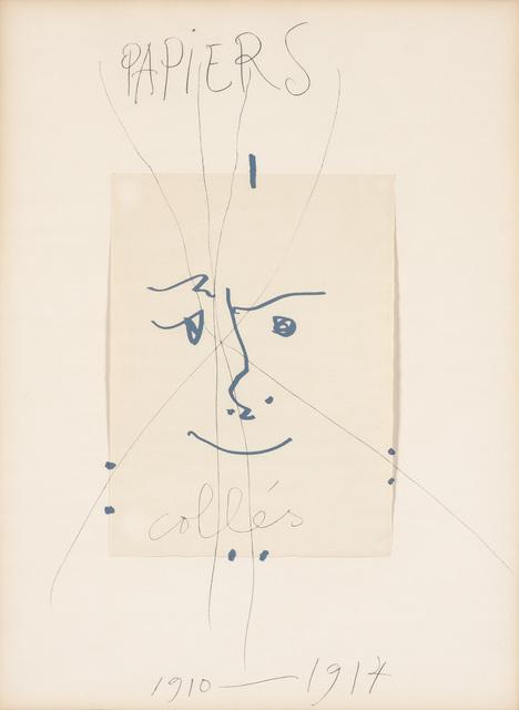 After Pablo Picasso, 'PAPIERS COLLÉS 1910-1914 (SEE C. BOOKS 137)', 1966, Doyle