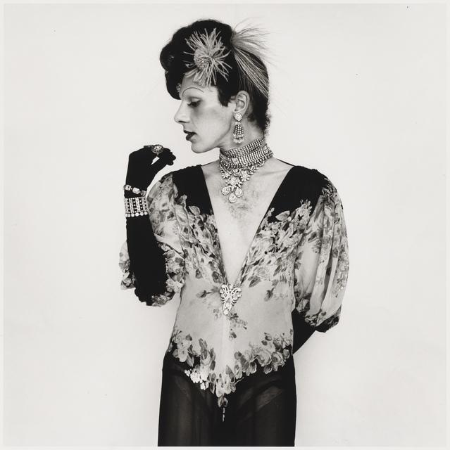 Peter Hujar, 'John Rothermel in Fashion Pose', 1971, Aperture Foundation Benefit Auction