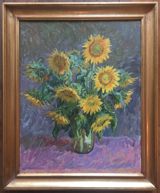 , 'Sunflowers II,' 2019, Grenning Gallery