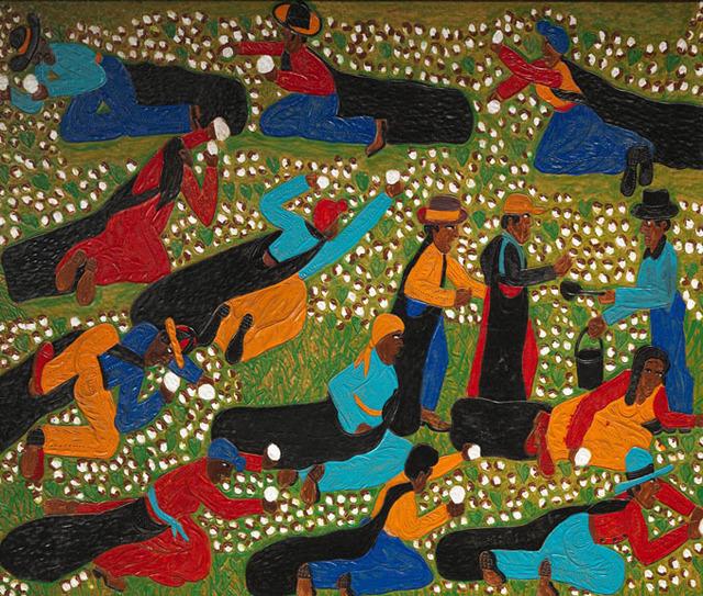 , 'Water Break - Picking Cotton,' 2012, Adelson Galleries