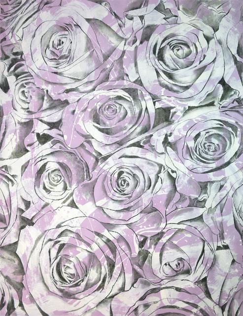 , 'Everlasting Bloom (Violet-Grey),' 2017, Brintz Gallery