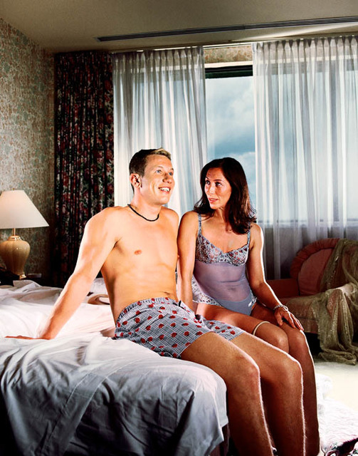 David Drebin, 'Couple On Bed', 2001, Isabella Garrucho Fine Art