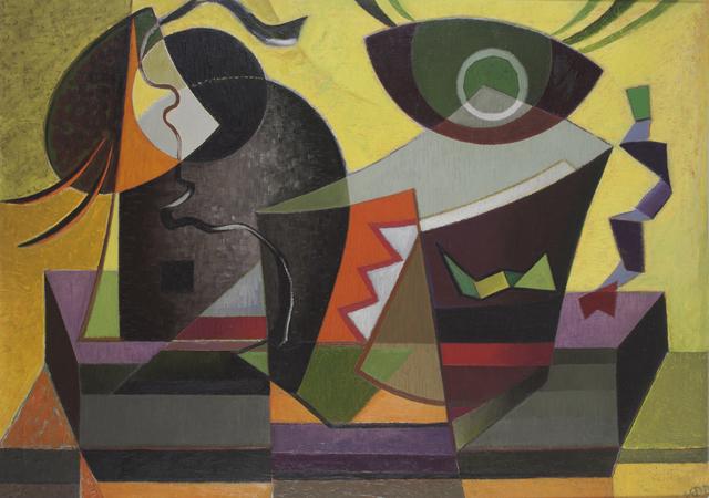 Werner Drewes, 'Composition #268', 1942, Thomas Colville Fine Art