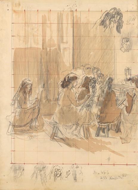 , 'The Drawing Class,' c.1912, Christopher Kingzett Fine Art