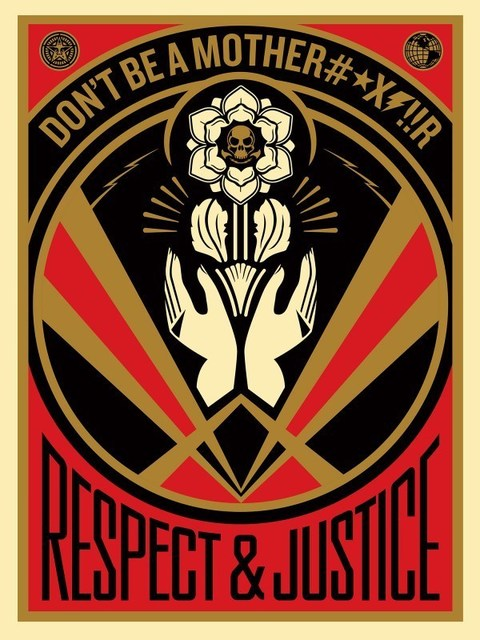 Shepard Fairey, 'Dont Be a MFR', 2015, AYNAC Gallery