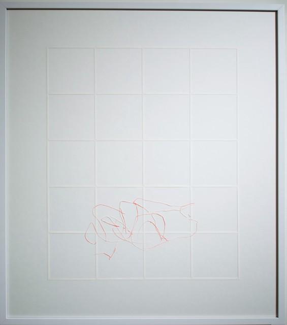 , 'Gitter / Linien,' 2013, MLF | MARIE-LAURE FLEISCH