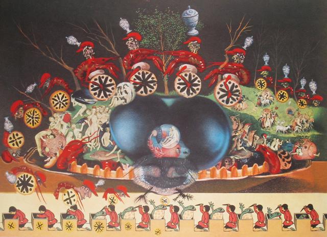 Salvador Dalí, 'Les Montres Molles Demi Sommeil', 1977, Print, Lithograph, DTR Modern Galleries