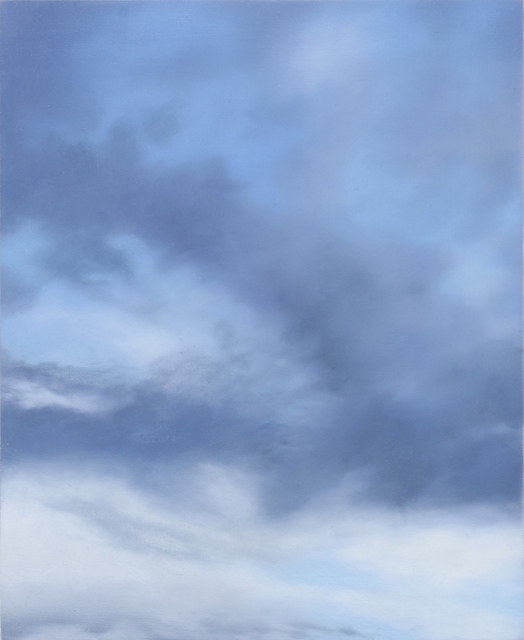Rebecca Partridge, '30 Day Sky Studies (19)', 2017-2018, Parafin