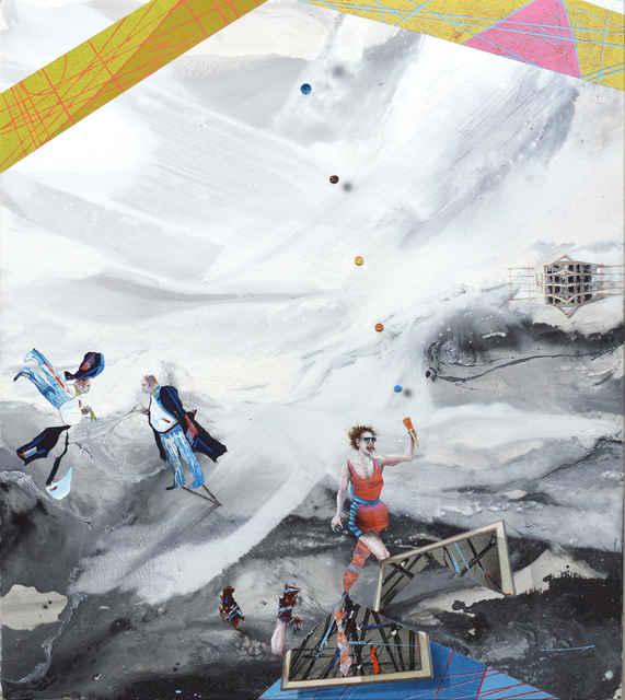 Michael Sistig, 'Cloud Chamber 2 - Catching Cup', 2018, Aki Gallery