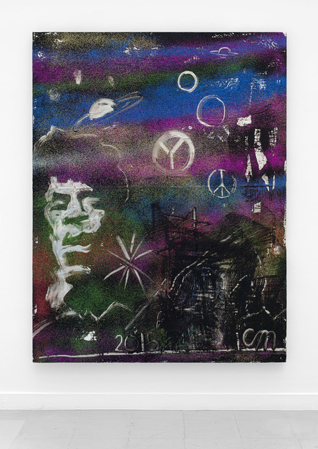 , 'Jimi Hendrix in Outer Space,' 2015, Rodolphe Janssen