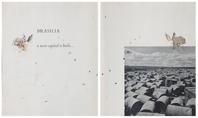 , 'Estado Laico - after Peter Scheier e Harald Schultz (Díptico),' 2014, Galeria Emma Thomas