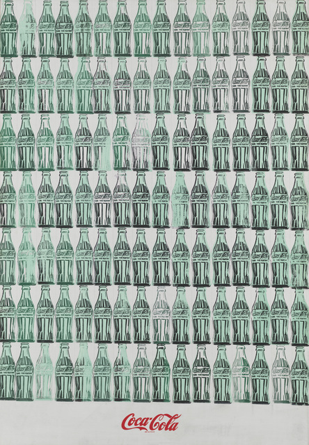 , 'Green Coca-Cola Bottles,' 1962, Whitney Museum of American Art