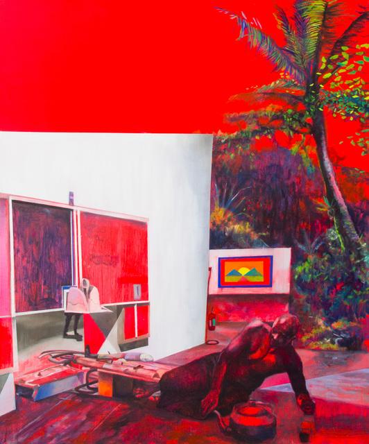 , 'An Artworld Disturbed by Java Man (After Raden Saleh),' 2018, Yavuz Gallery