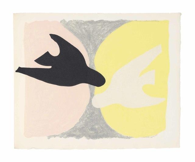 Georges Braque, 'Saint-John Perse: L'ordre des oiseaux', 1962, Christie's
