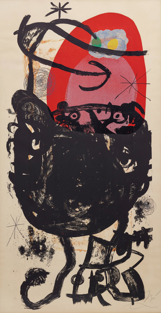 Joan Miró, 'La Guerrière de cent ans (The Hundred Years War)', 1976, Phillips