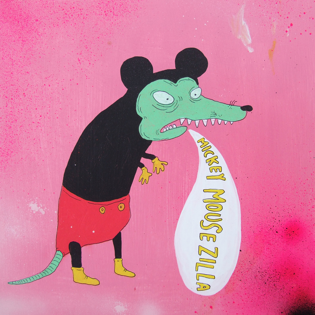 , 'Mickey Mousezilla,' 2008, Fouladi Projects