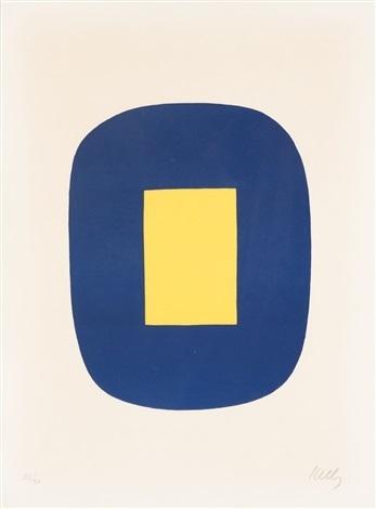 Ellsworth Kelly, 'Blue and Yellow', 1965, Vertu Fine Art