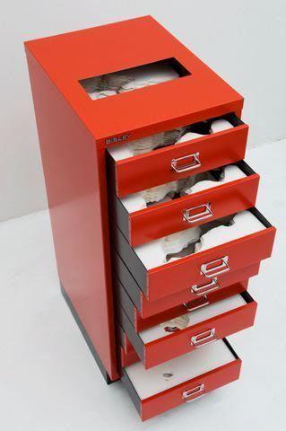 , 'Flat File Globe 3A Red Version,' 2007, Castelli Gallery