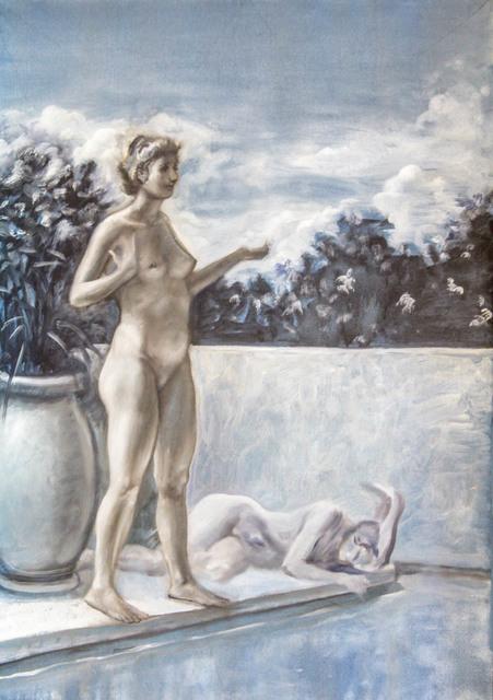, 'Poolside,' 2017, Treason Gallery