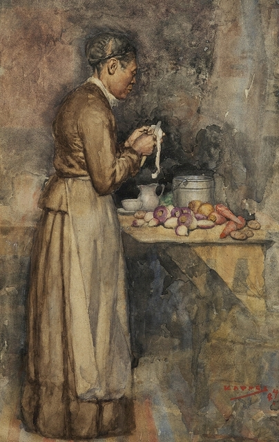 Alfred Kappes, 'In the Kitchen', 1884, Montclair Art Museum