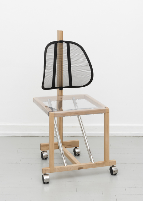 , ''Lumbar Support' Chair,' 2017, Etage Projects