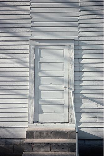 William Christenberry, 'Door, Havana, Methodist Church, Alabama', 1976, Photography, Archival pigment print, Jackson Fine Art