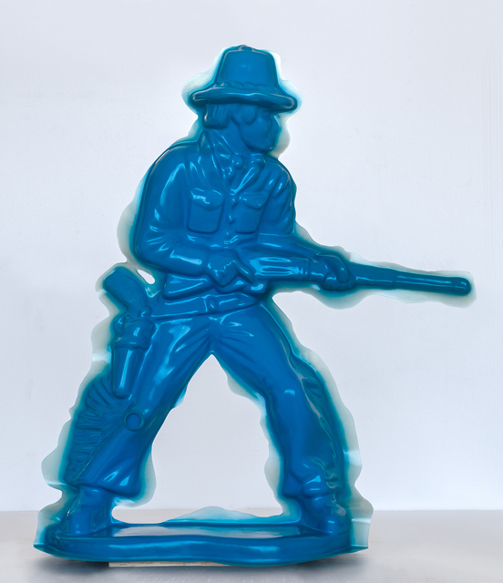 , 'Blue Cowboy #2 (Rifleman),' 2008, Mark Moore Fine Art