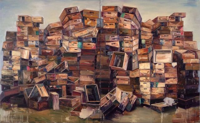 , 'Piled Castles Series, No. 4,' 2015, Galerie Huit