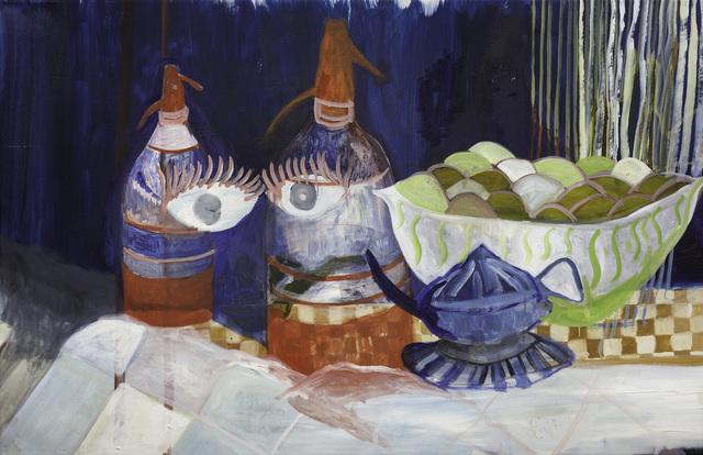Gimena Macri, 'Naturaleza muerta [sodas y fruta]', 2019, Pasto