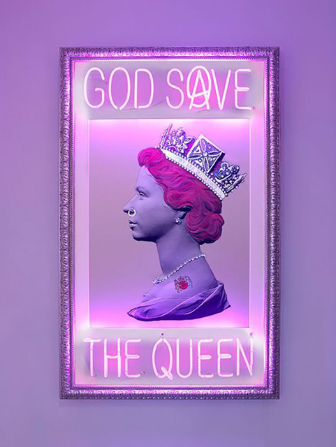 Mark Sloper, 'God Save the Queen', Flat Space Art
