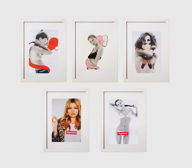 KAWS, 'Kate Moss', 2001, Print, Inkjet on paper (5), Julien's Auctions