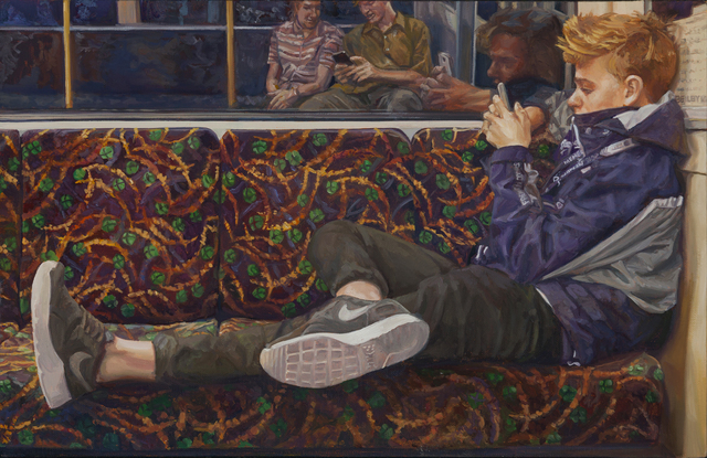 , 'The Fremantle Line,' 2016, Charles Nodrum Gallery