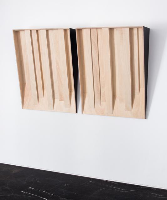 , 'Diffuser I/Diffuser II,' 2017, Luis Adelantado Valencia