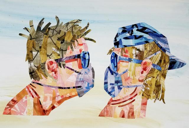 , 'Head vs Head Redux,' 2018, Russo Lee Gallery