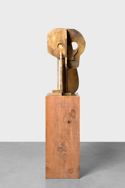 , 'Sun & Moon Mask,' 2018, Xavier Hufkens