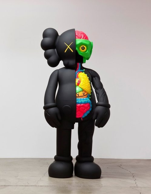 KAWS, '4FT Black Dissected companion', 2009, 5ART GALLERY