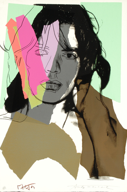 Andy Warhol, 'Mick Jagger, 1975 (#140)', 1975, Martin Lawrence Galleries
