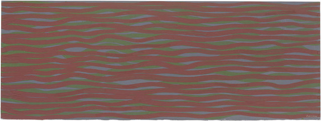 , 'Horizontal Lines in Color (More Or Less),' 2003, Barbara Mathes Gallery