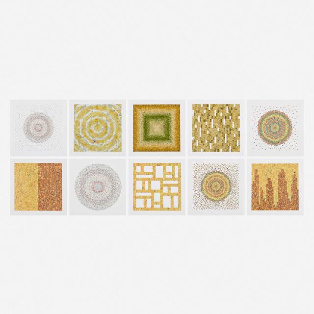 Peter Wegner, 'Reverse Atlas (ten works)', 2008, Print, Offset color lithograph on paper, Rago/Wright