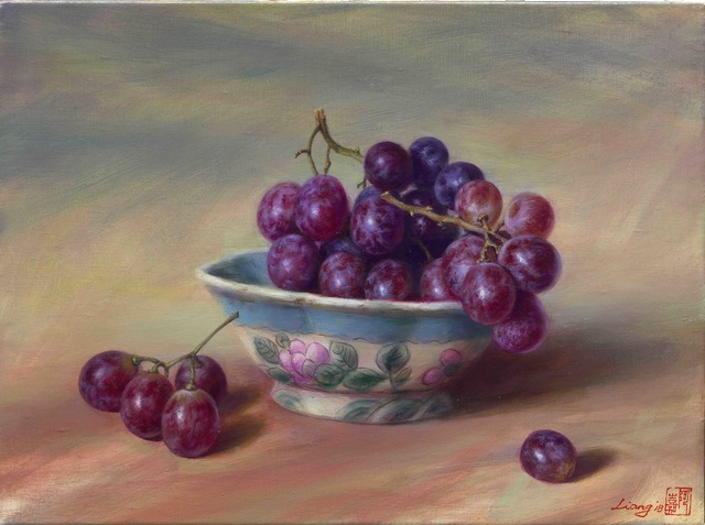 , 'Grapes,' 2018, East Gallery