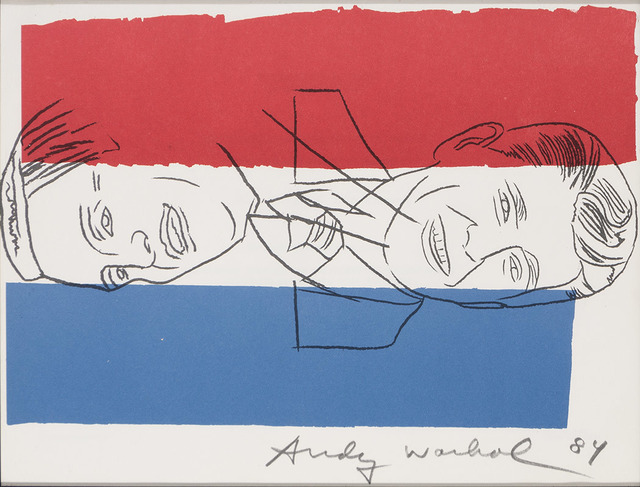 Andy Warhol, 'Invitation [Election Night 1984]', 1984, Doyle