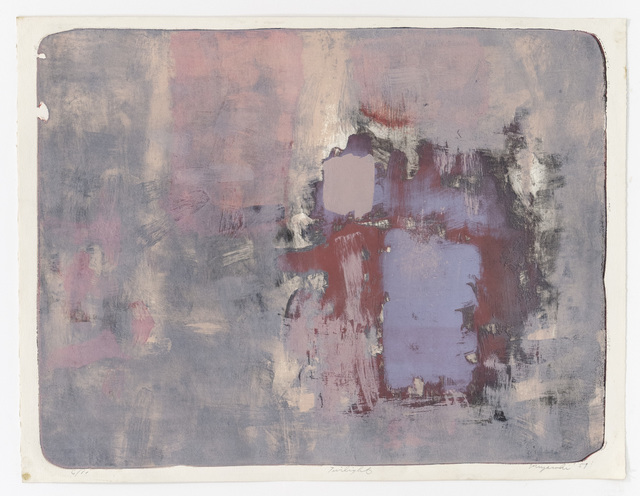 George Miyasaki, 'Twilight', 1959, Mary Ryan Gallery, Inc