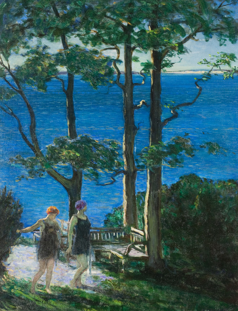 , 'East Wind (The Bathers),' 1922, Questroyal Fine Art