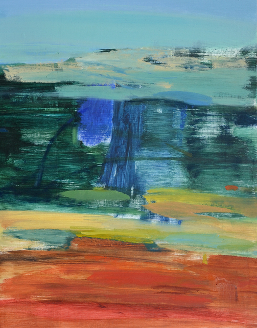 Calum McClure, 'Tree Light, Kingley', 2019, Painting, Oil on board, Candida Stevens Gallery