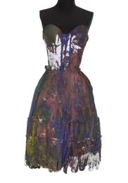 Rita Ora Painted Ensemble