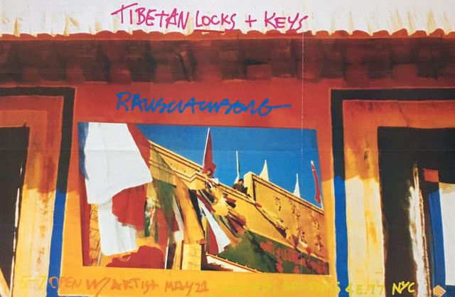 Robert Rauschenberg, 'Tibetan Keys and Locks (Leo Castelli exhibition poster) ', 1986, Lot 180